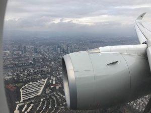 Im neuen A350 von Qatar