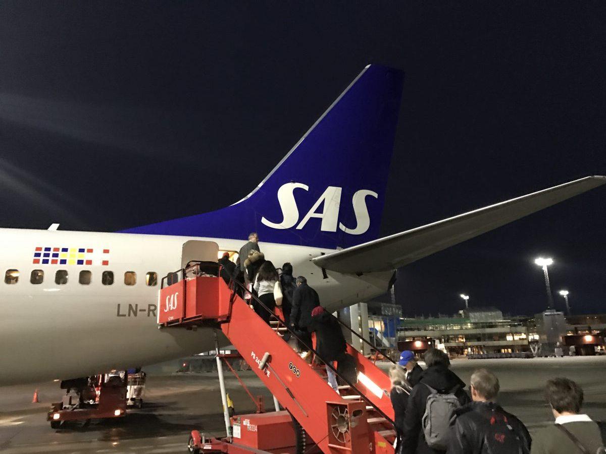 Oslo – Stockholm Shuttle mit SAS