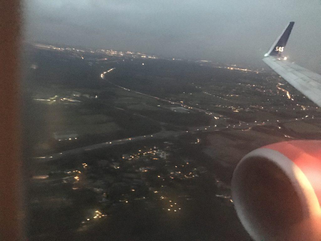 SAS von Oslo nach Düsseldorf