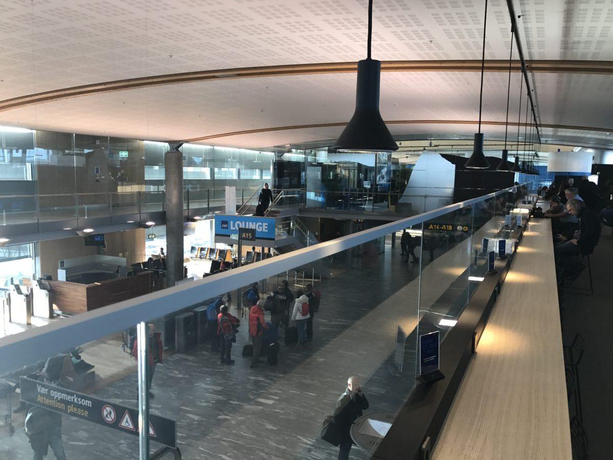 SAS Lounge Terminal A Oslo