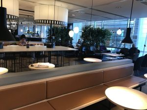 SAS Lounge Terminal Bereich E