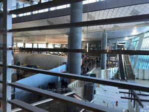 SAS Lounge Terminal E Oslo