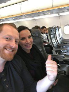 Lufthansa von Frankfurt nach Stockholm