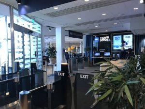 SAS Lounge in Stockholm