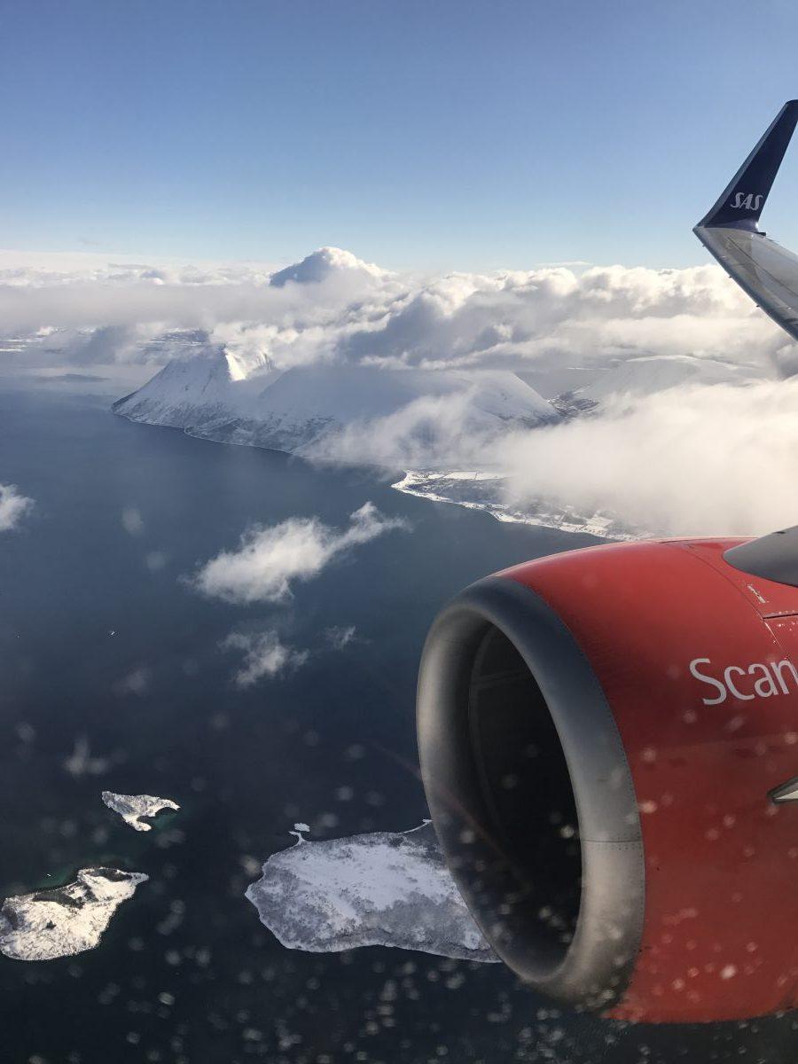 SAS Stockholm nach Tromsø - SAS Plus Business Class