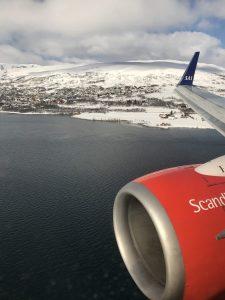 SAS Stockholm nach Tromsø