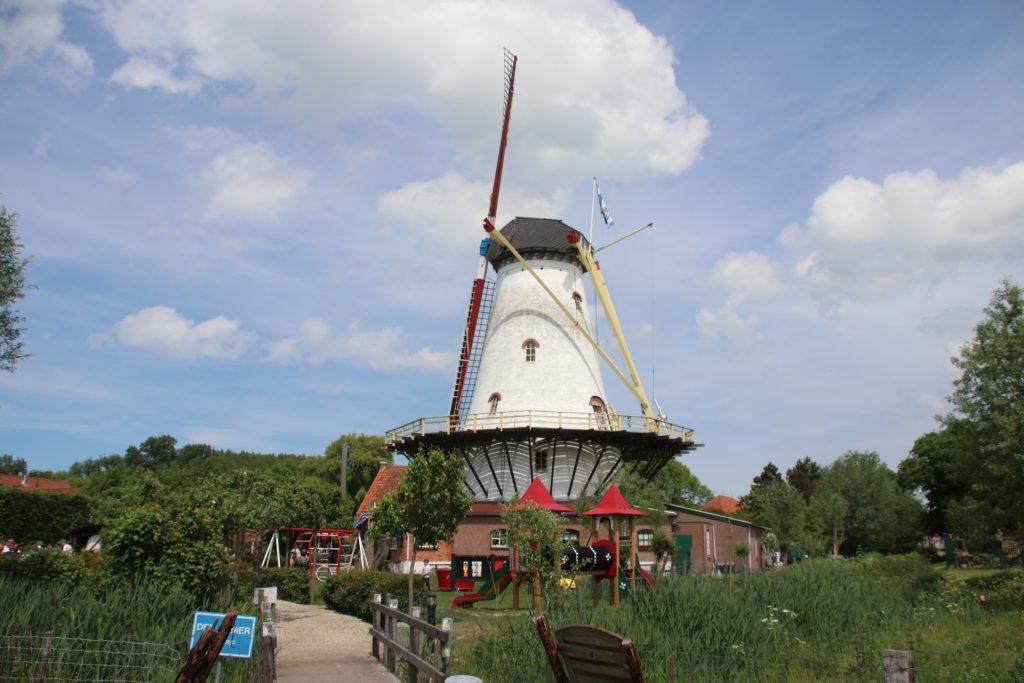 Die Pfannkuchenmühle de Graanhalm - Die Mühle