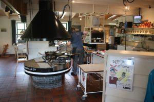 Der Kochbereich Pfannkuchenmühle de Graanhalmund