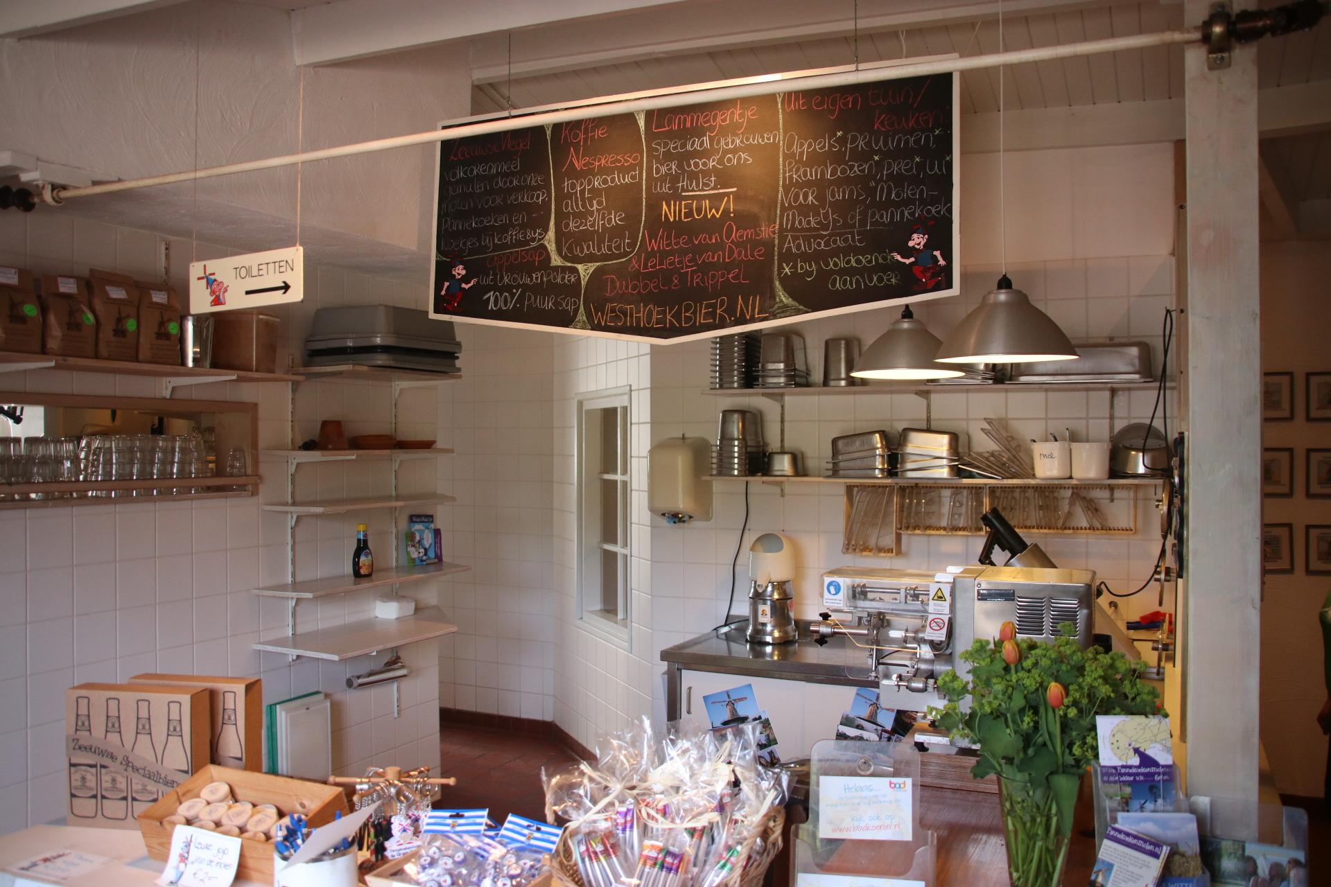 Wow, die Backstube der Pfannkuchenmühle de Graanhalm