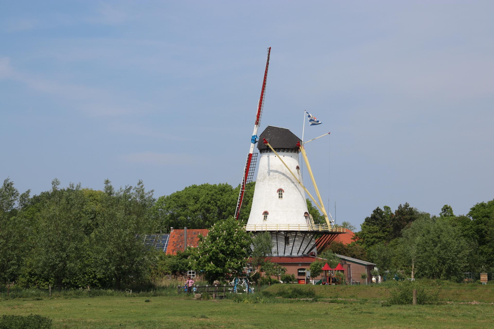 Die Pfannkuchenmühle de Graanhalm – Burgh Haamstede