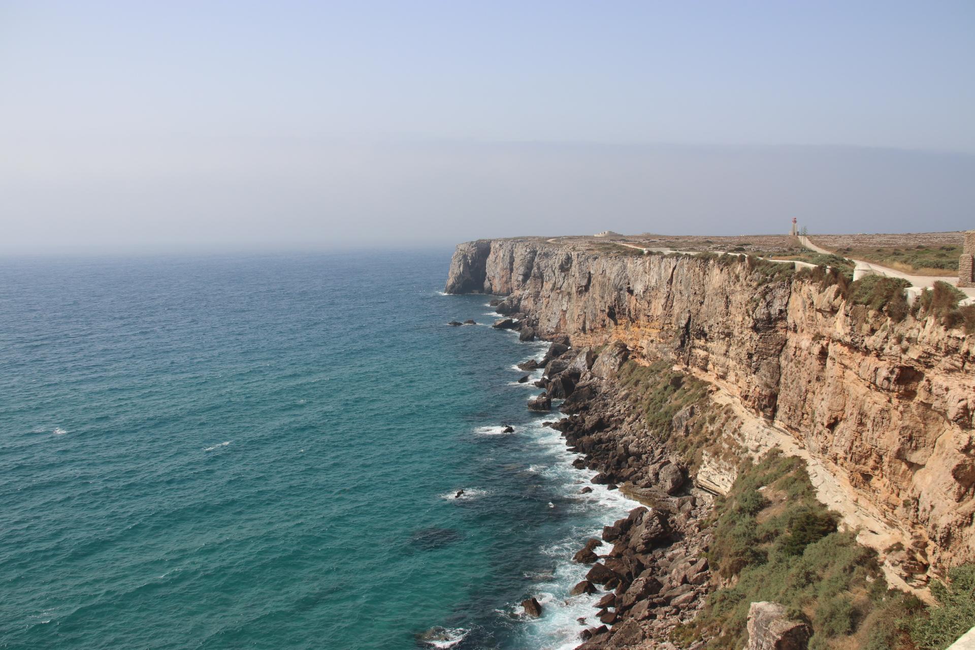 Fort Fortaleza de Sagres - Die alte Festung von Sagres an der Algarve