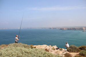 Fort `Fortaleza de Sagres´ - Angler