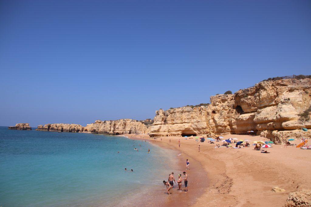6 Strände der Algarve - Praia de Coelha