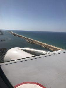 Von Lissabon nach Faro - Landung