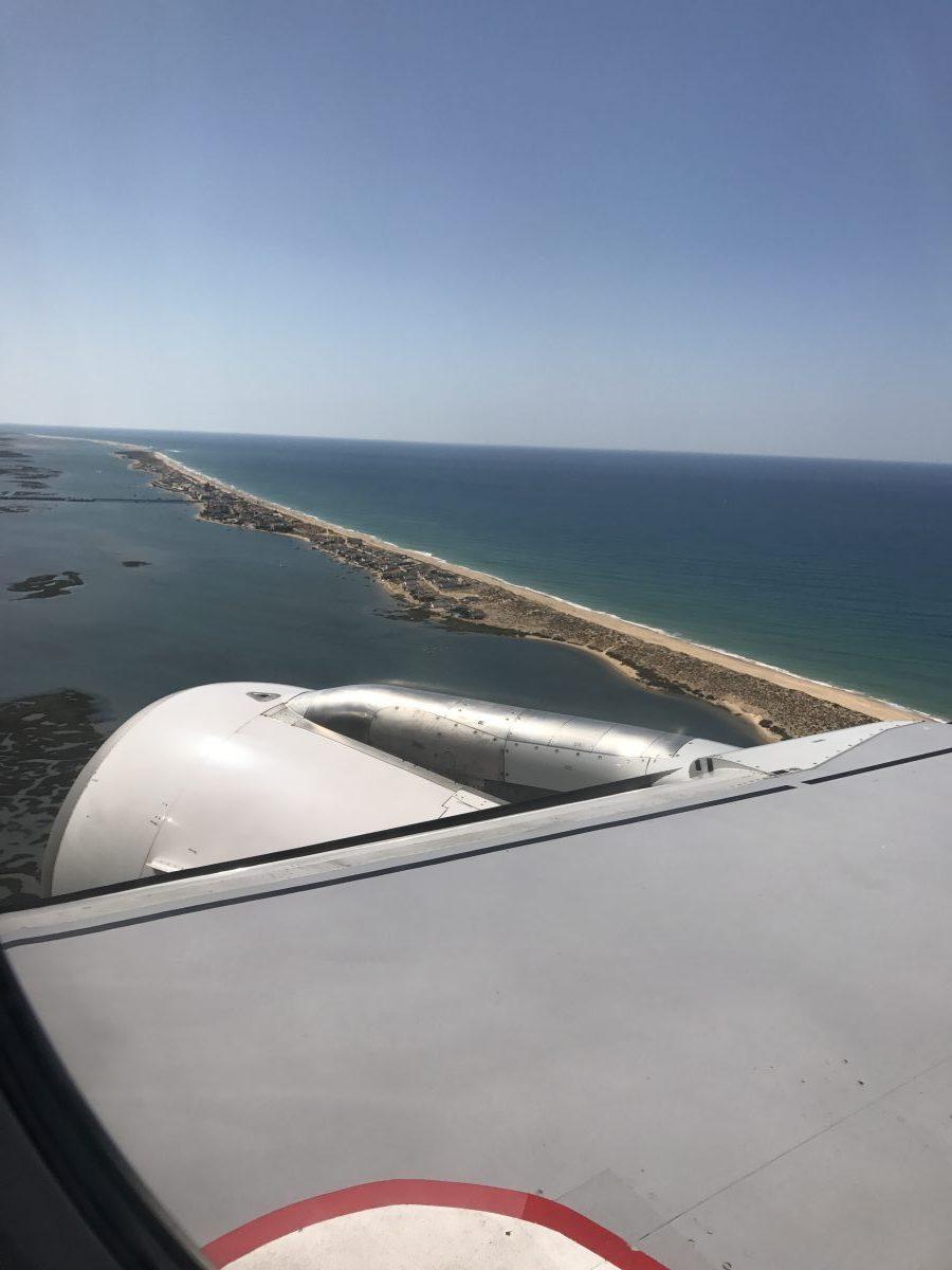 Von Lissabon nach Faro mit TAP Portugal