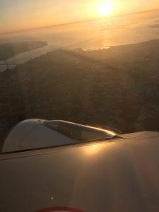 Sonnenaufgang über Lissabon