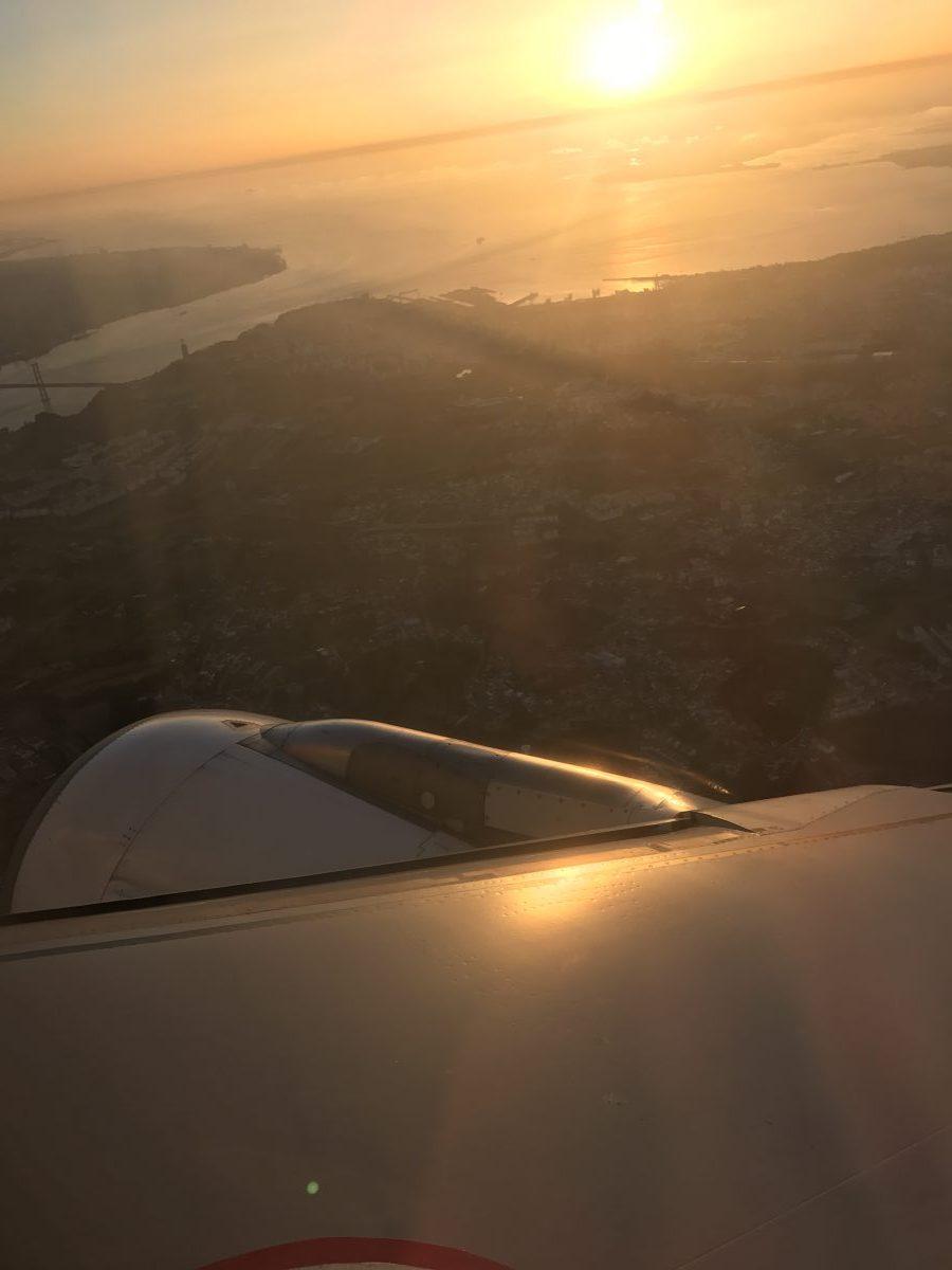 TAP Portugal von Faro nach Lissabon