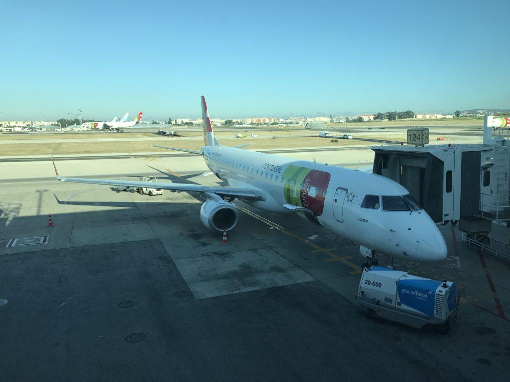 TAP Portugal von Lissabon - Unsere Maschine