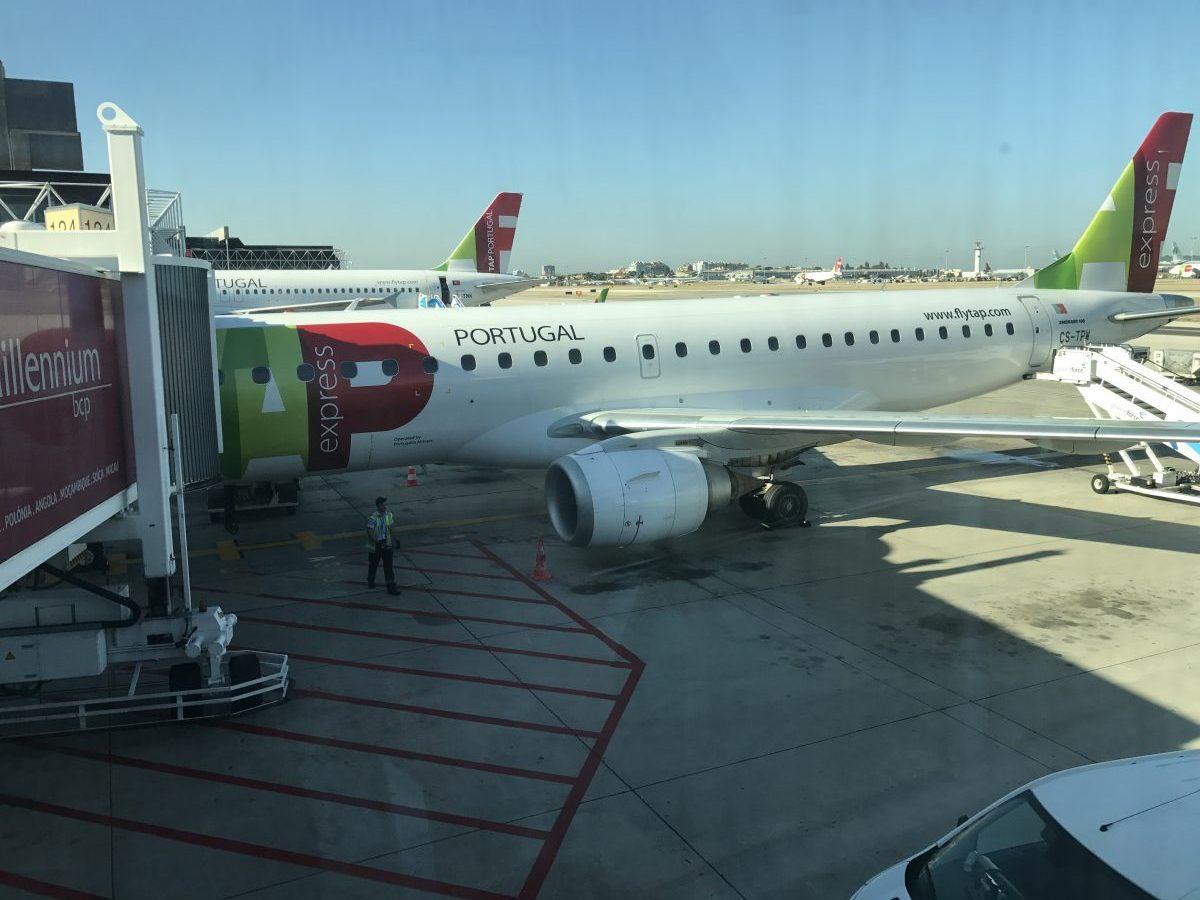 TAP Portugal von Lissabon nach Düsseldorf in der Economy Class