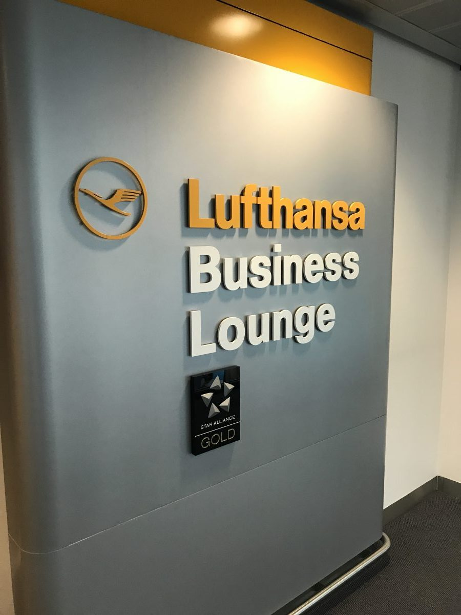 Lufthansa Business Lounge Düsseldorf