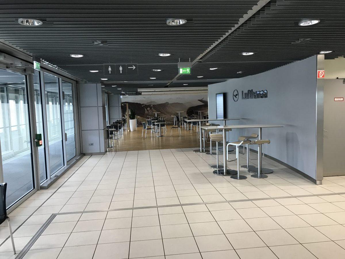 Lufthansa Business Lounge Düsseldorf