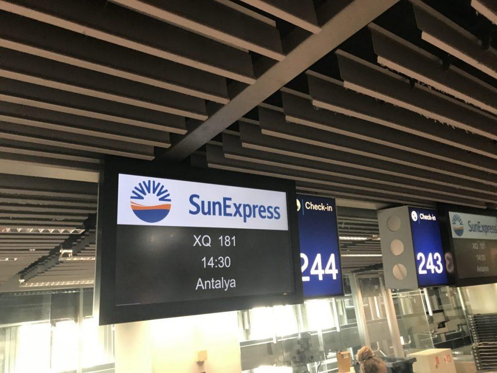 Düsseldorf nach Antalya