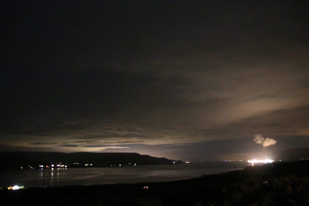 Nordlichter in Island am Hotel Glymur - Start der Jagd