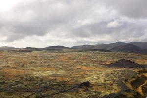 Reise in einen Vulkan
