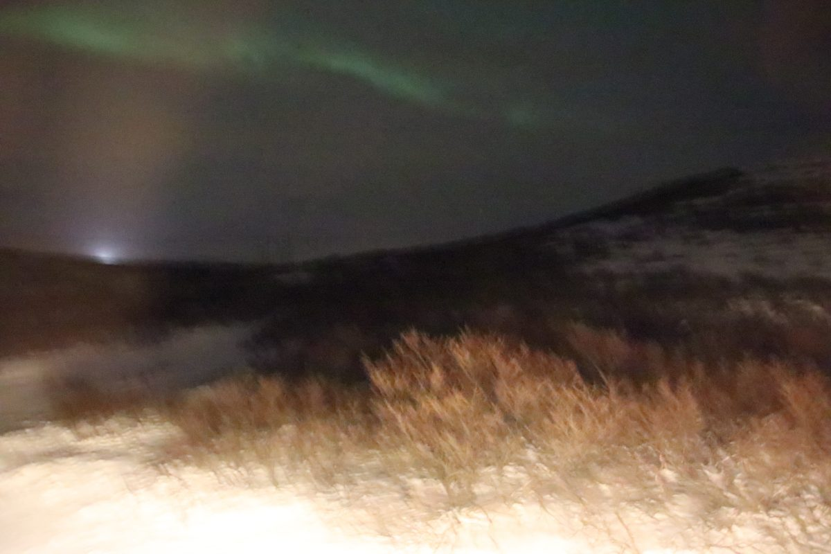 Hotel Glymur - Nordlichter aus dem Zimmer