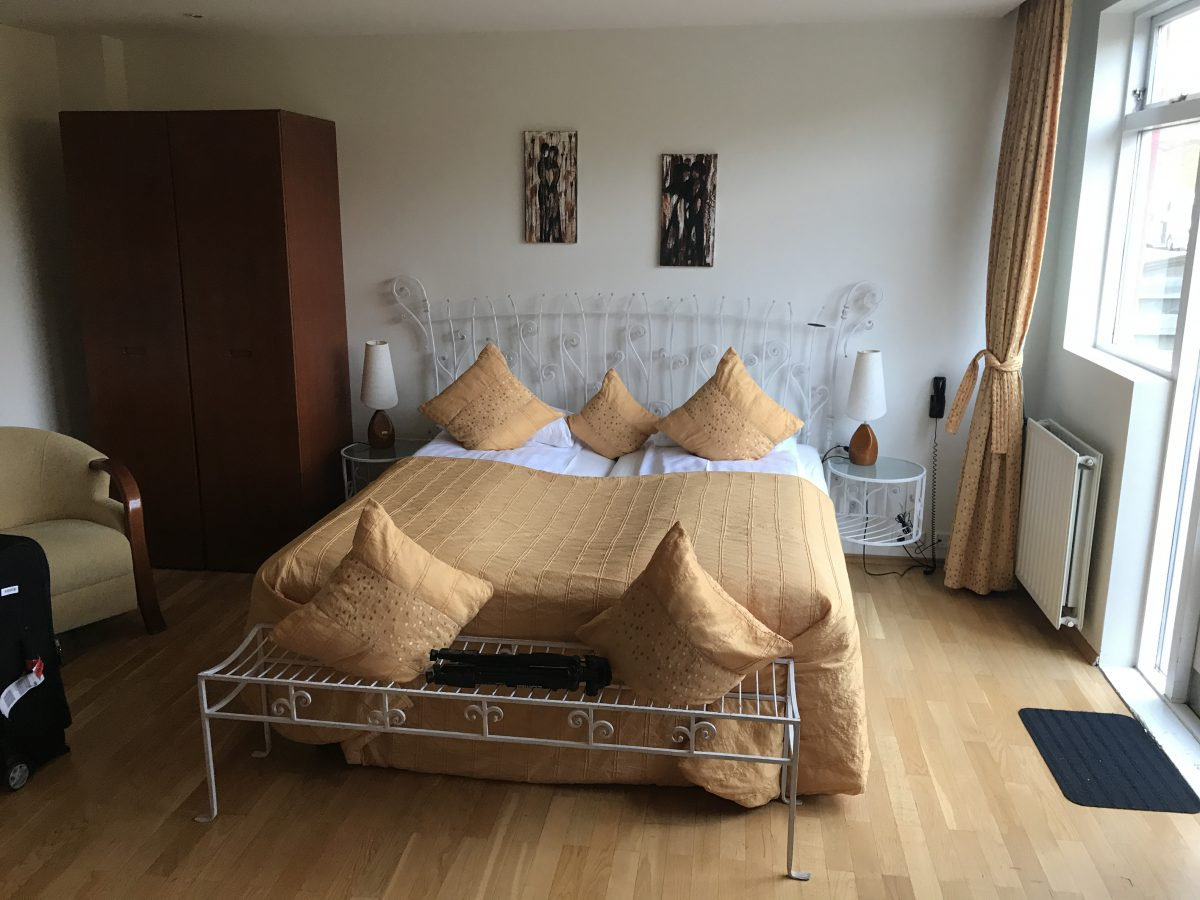 Hotel Glymur - Die Suite im EG Hügelseite