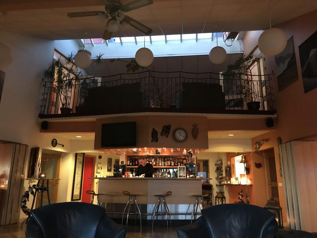 Hotel Glymur - Die Lobby und Bar