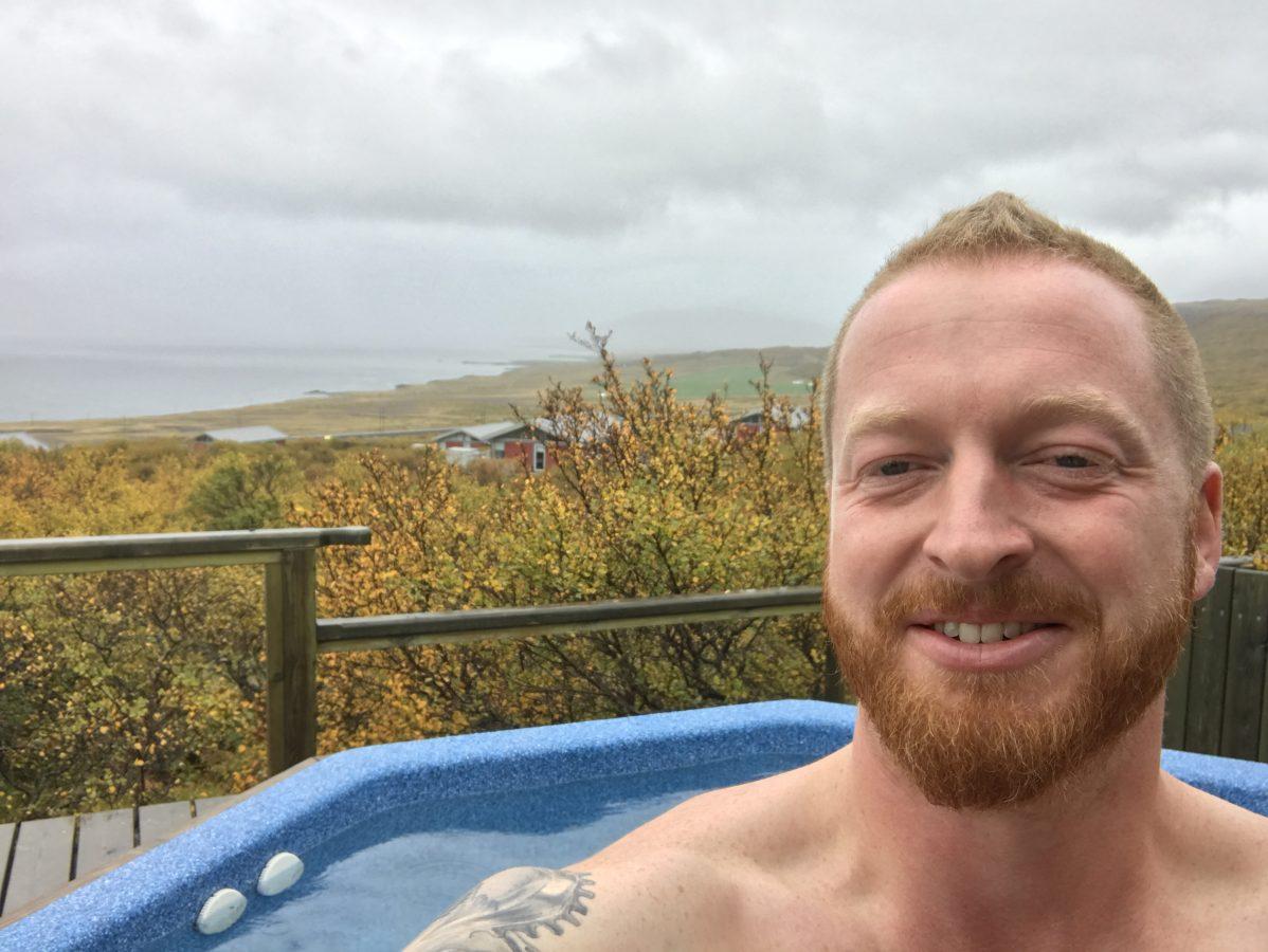 Hotel Glymur - Hotpot Selfie