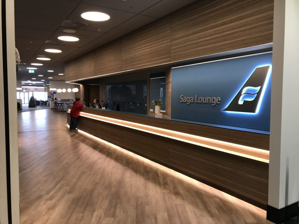 Die neue Saga Lounge Keflavik Airport