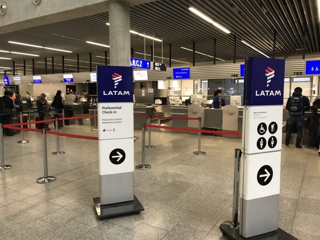 LATAM Premium Business nach Madrid