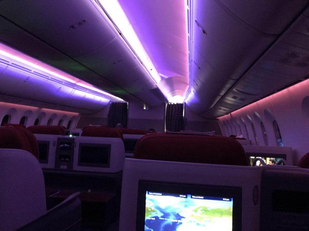 LATAM Premium Business nach Madrid