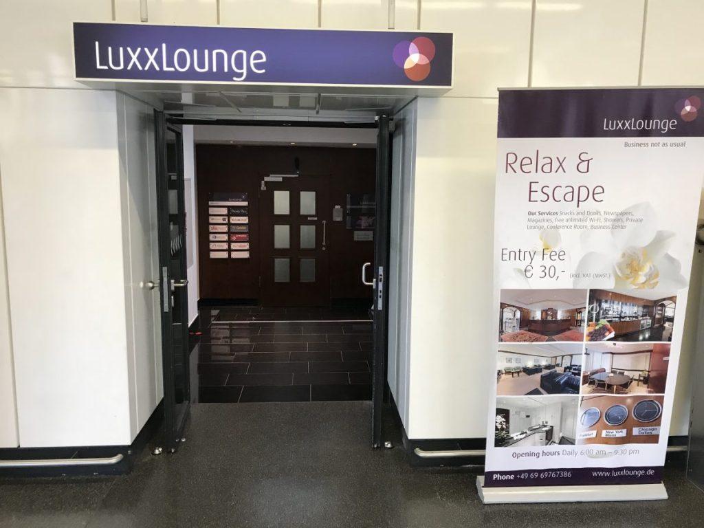 Luxxlounge Frankfurt Terminal 1 - Eingangsbereich