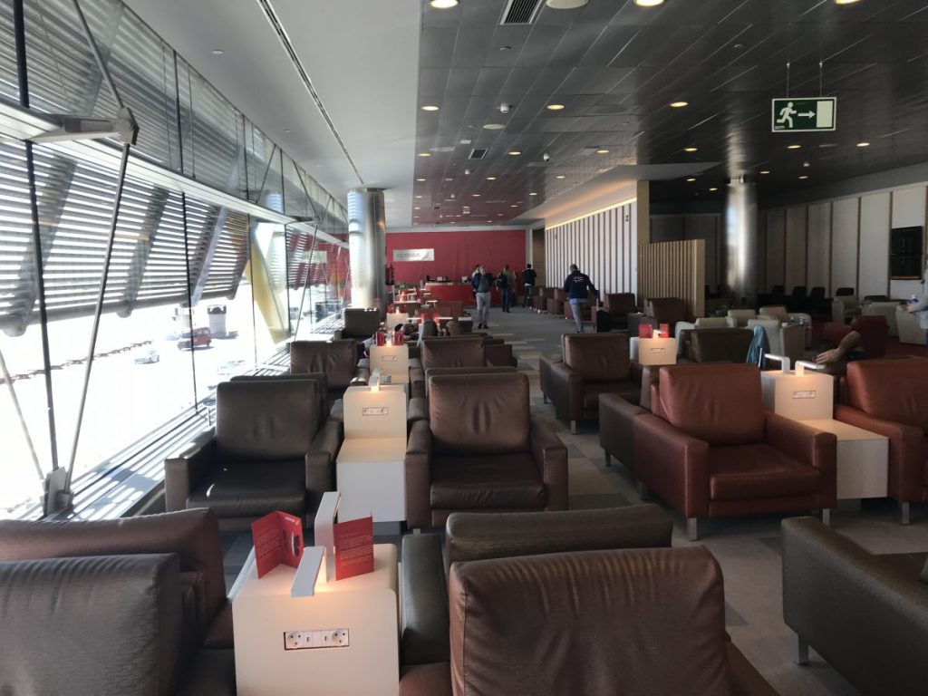 Iberia Lounge in Madrid