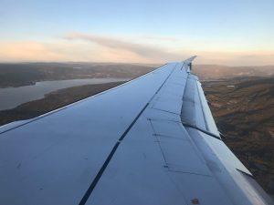 Von Frankfurt über Oslo nach Tromsö