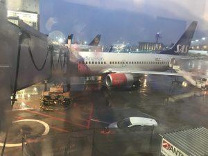 Von Stockholm nach Frankfurt in der SAS Economy Class