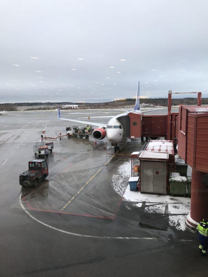 Von Stockholm nach Frankfurt