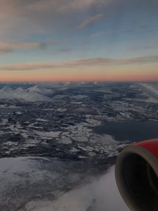 Tromsö nach Stockholm in der Business Class