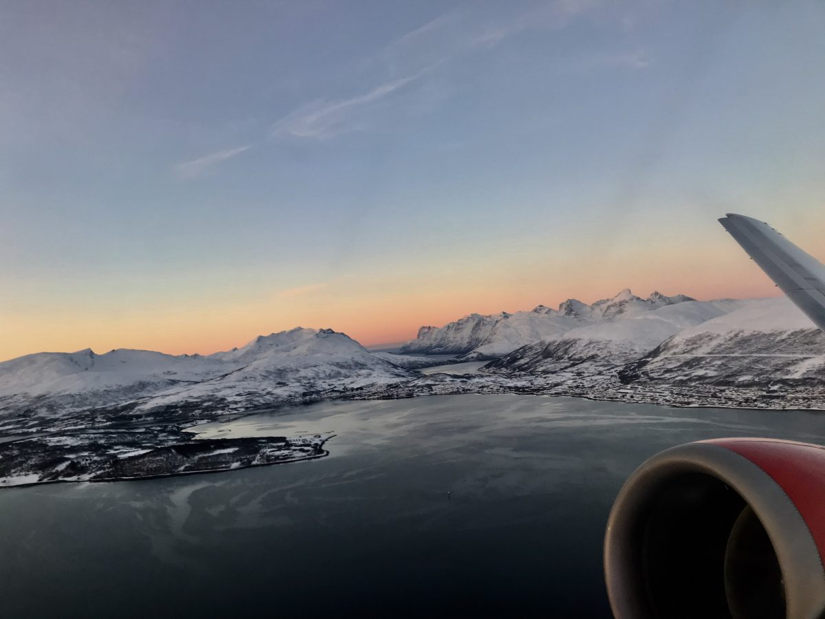 Tromsö nach Stockholm in der Business Class