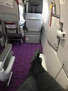 WOW Air von Frankfurt