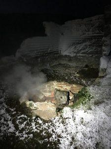 Sheep & Horse Farm Kopareykir - Eier morgens kochen in der heißen Quelle