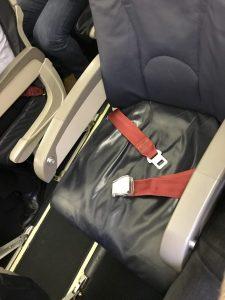 Eurowings Dash 8-Q400 - Der Sitzplatz