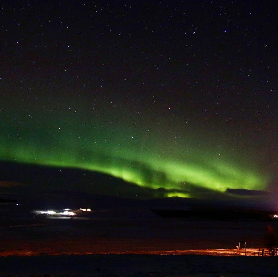 Nordlichter über Eykholt