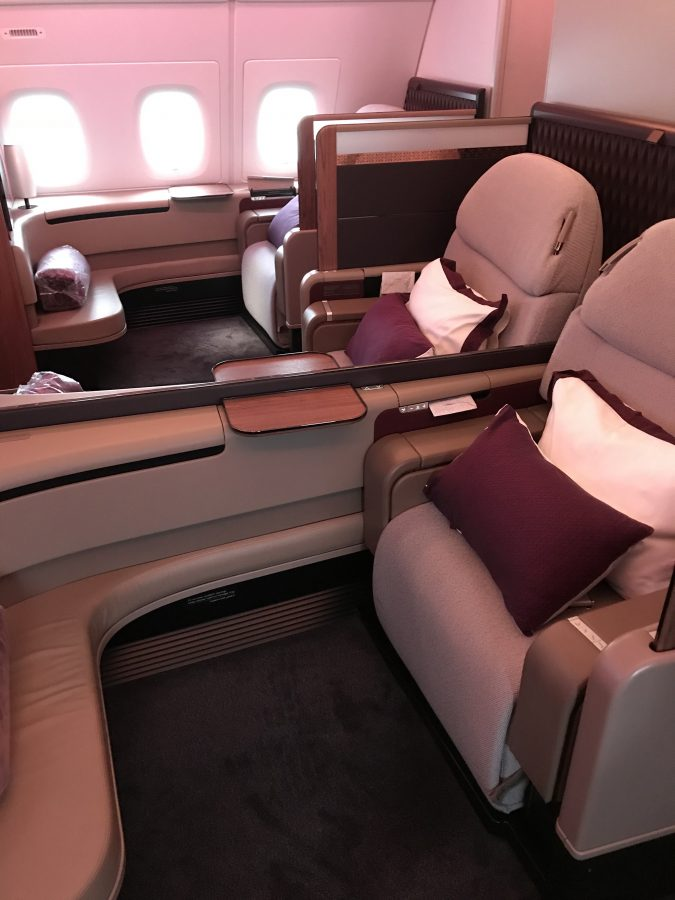 Flugberichte von Qatar Airways