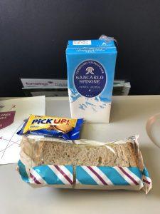 Eurowings Dash 8-Q400 - Das Essen