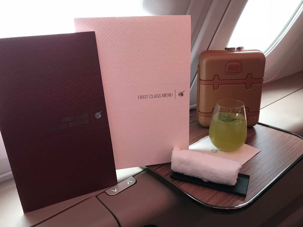 Privilege Club - Mit qmiles zur Qatar Airways First Class