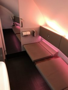 First Class im A380 von Qatar Airways - Paris nach Doha